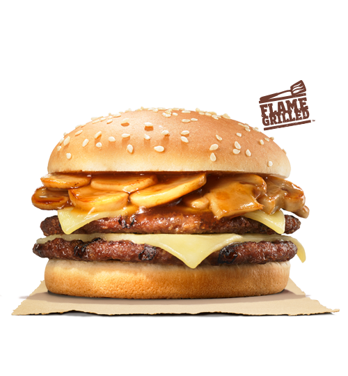 BURGER KING® Double Mushroom Swiss