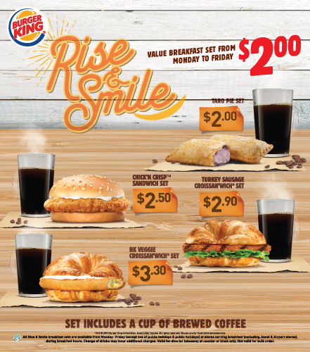 Burger King Get Fresh Offer